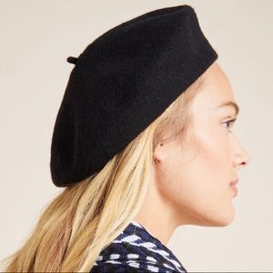 Anthropologie Edith Beret NEW